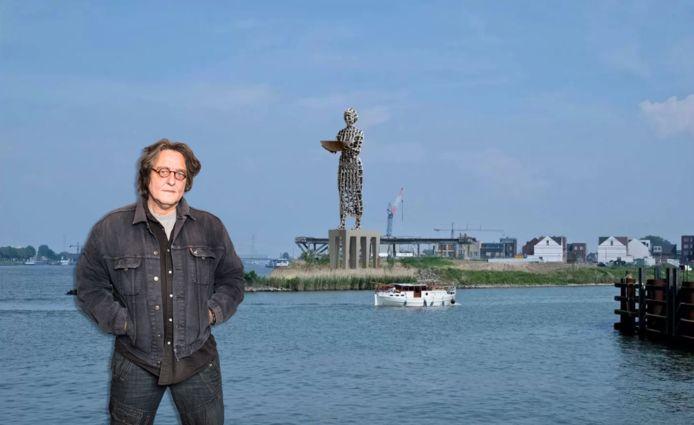 Kees Thies over het standbeeld Hanneken van Dordt, dat niet op de Stadswerven komt te staan.