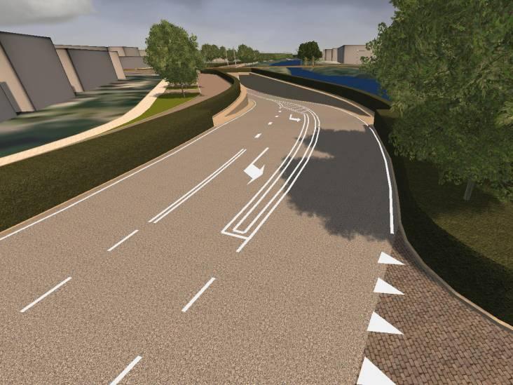 Tunnel Kanaalweg Dieren wordt voor een deel boven de grond gebouwd