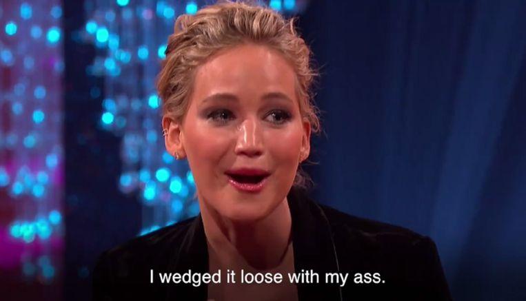 Jennifer Lawrence.  Beeld kos