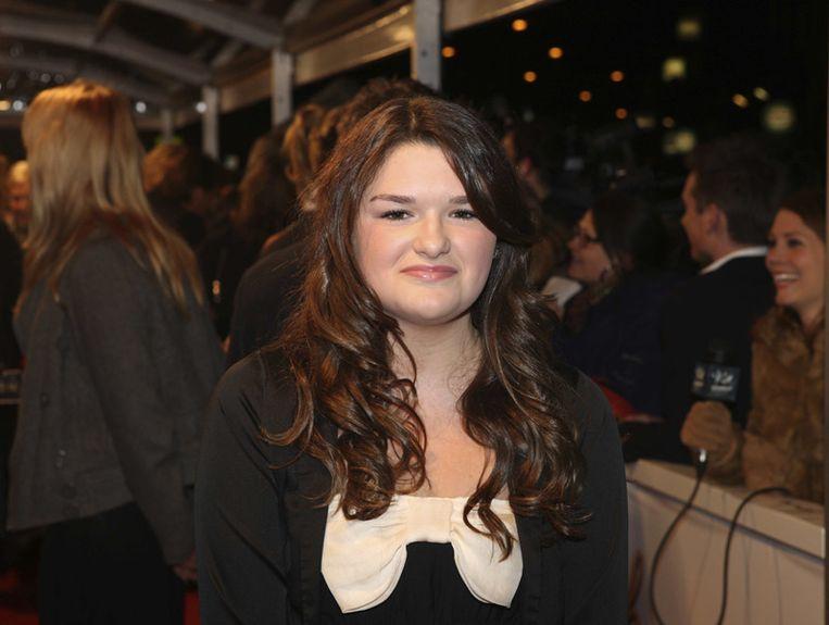 Actrice Lisa Bouwman die speelt de rol van Vlinder, dochter van Anouk.<br /> Beeld