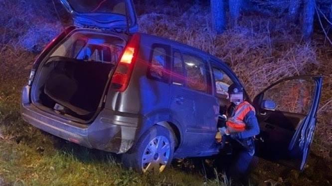 Bestuurder onder invloed van drugs belandt in gracht tijdens vlucht voor politie