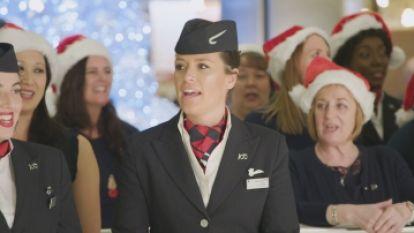 British Airways zorgt voor verrassing van formaat om helemaal in kerstsfeer te komen