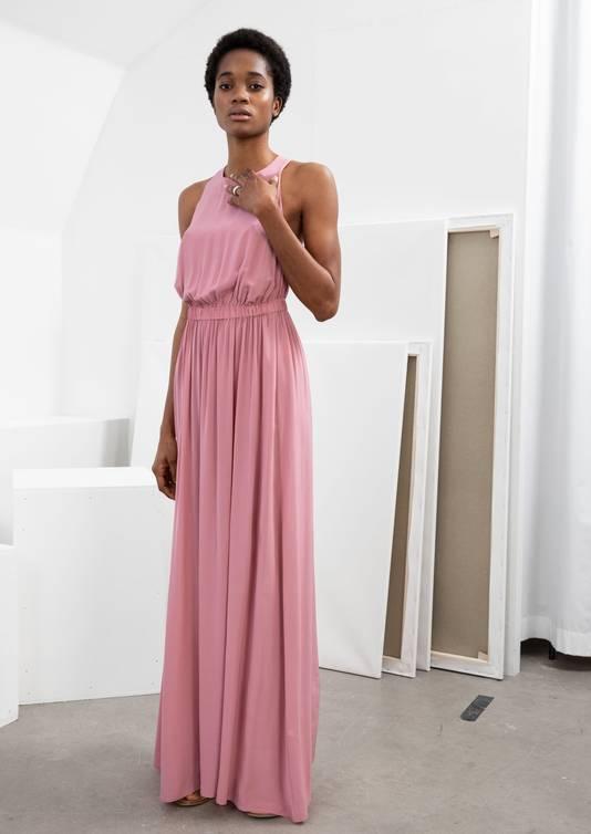 Maxi robe avec dos croisé - 149 euros