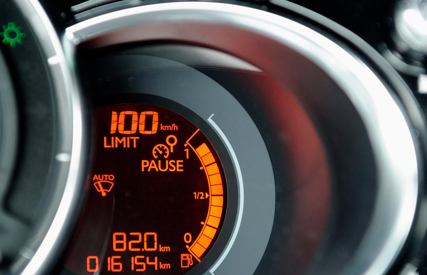 Snelheidscontrole (foto ter illustratie).