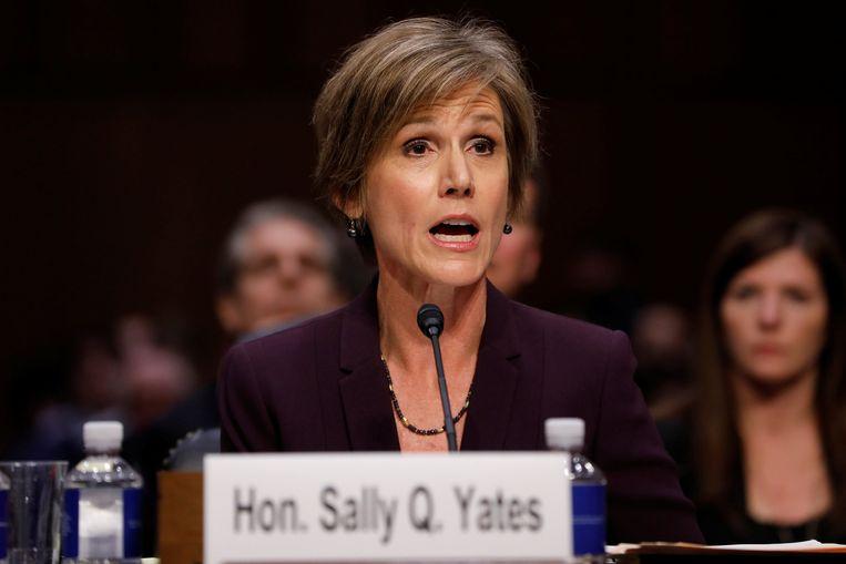 Sally Yates. Beeld REUTERS