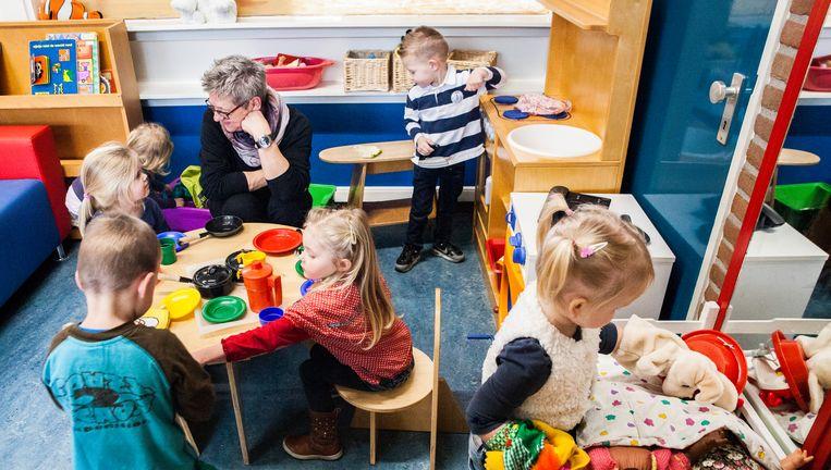 Voorschoolse opvang. Beeld Aurélie Geurts