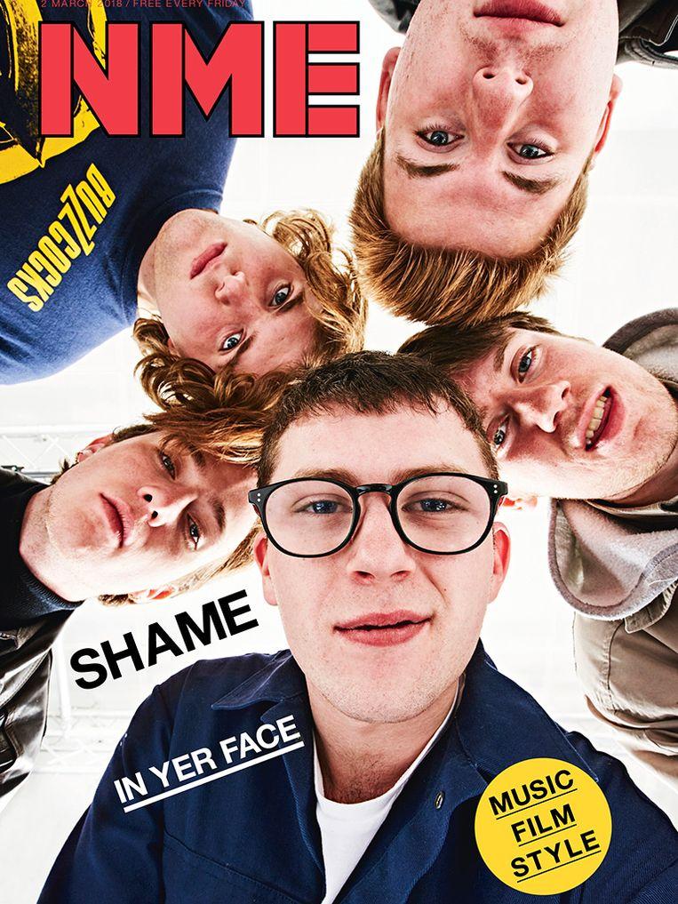 De huidige cover van NME Magazine. Beeld NME