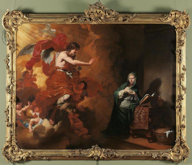 De verkondiging aan Maria, Gerard de Lairesse, ca. 1668-70. Beeld