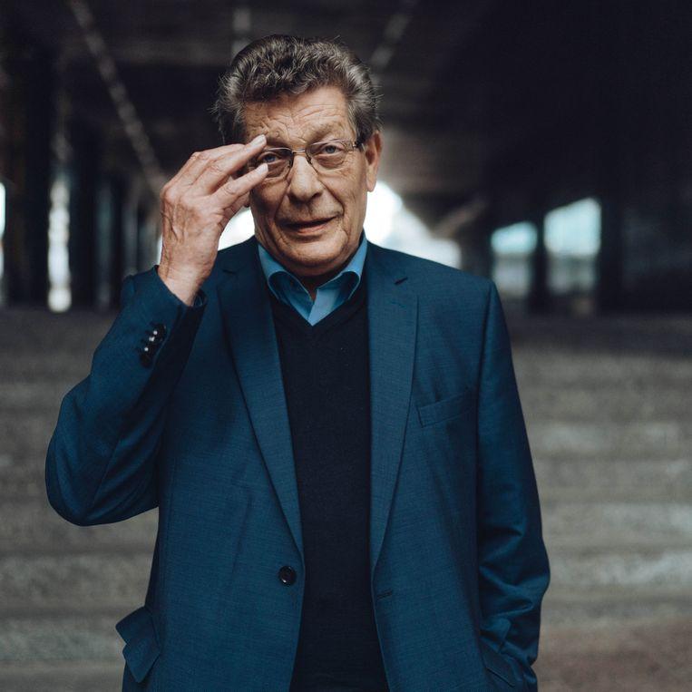 Gérard Deprez (MR): 'We hebben door onze besluiteloosheid op de laatste grote klimaattop aan de hele wereld onze institutionele kakofonie getoond.'  Beeld Thomas Sweertvaegher