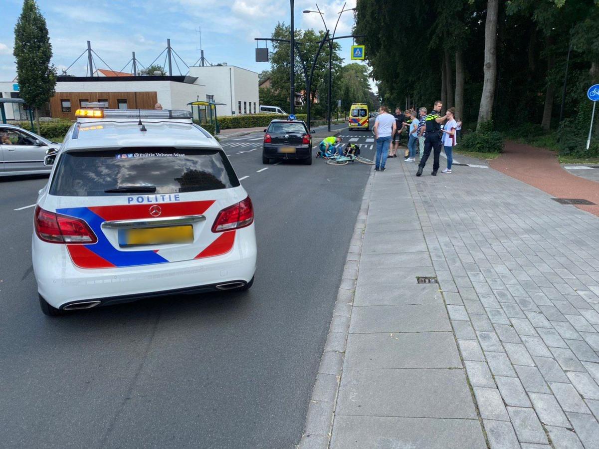 Het slachtoffer is na het ongeluk naar het ziekenhuis gebracht.