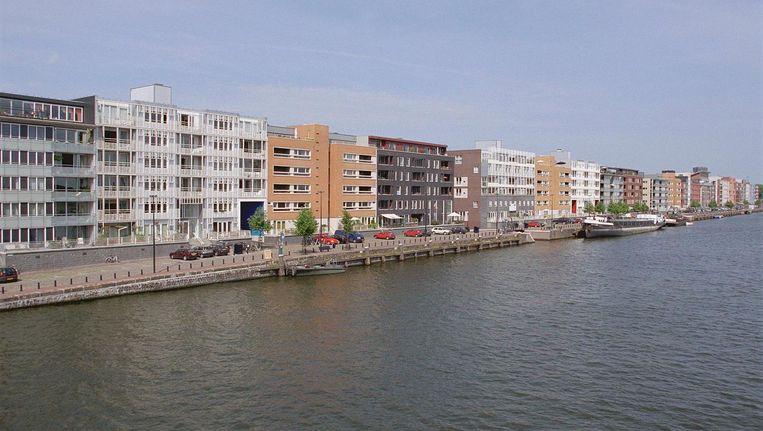 Het Oostelijk Havengebied in Amsterdam waar de huren van de vrije sectorwoningen zijn gestegen van middeldure huur naar dure huur. Beeld anp