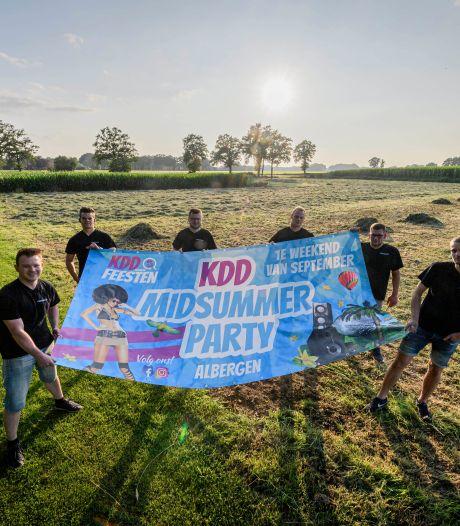 Bij de KDD Midsummer Party zijn ze er klaar voor: 1500 feestgangers in Albergen