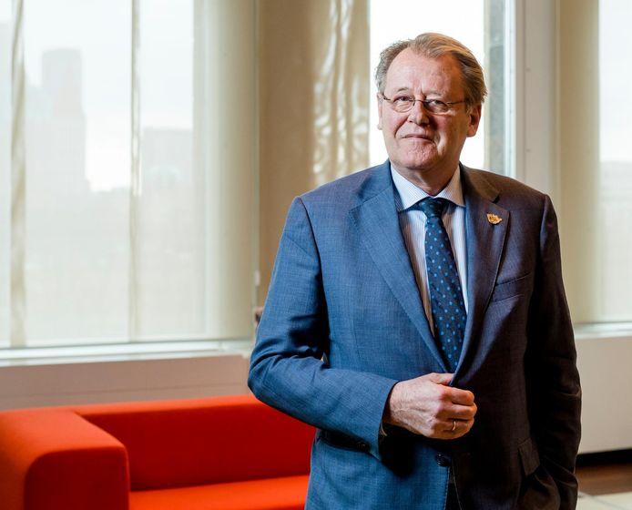 Commissaris van de Koning Jaap Smit.