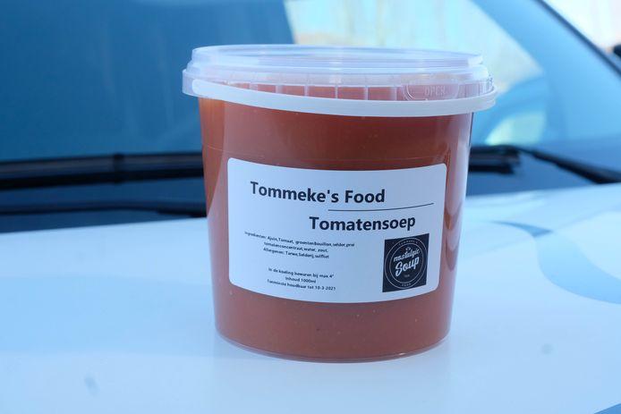 De tomatensoep van Tommeke's Food