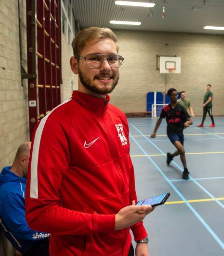 Jongerenvrijwilliger van het jaar: nu rolmodel, later hoopt Antonio Cetina echt bij Buurtsport te werken