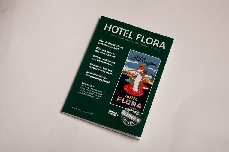 Hotel Flora tijdschriftcover. Beeld