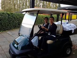 Gestolen golfkarretje Van der Valk Hotel Beveren teruggevonden na dolle rit