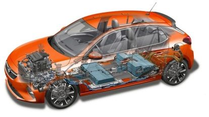 Opel onthult elektrische versie van Corsa-hatchback met een 50kWh-accu