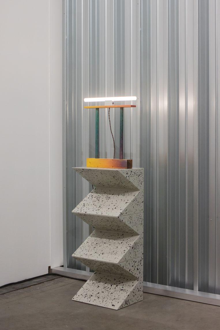 Lamp uit de Prism serie door Fredrik Paulsen voor Etage Projects Beeld Studio Coffeeklatch