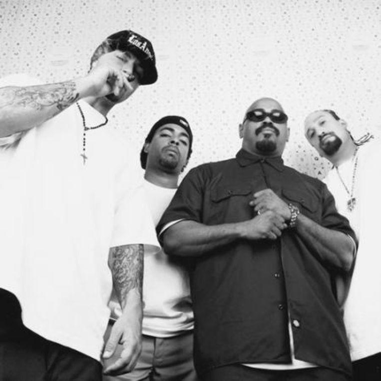 De politieke activiteit van Cypress Hill-frontman B-Real beperkte zich tot een roep om de legalisatie van marihuana Beeld