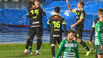 """16-jarige Luca Oyen zorgt voor Genkse ommekeer tegen Ferencvaros: """"Het einde van een geslaagde week"""""""