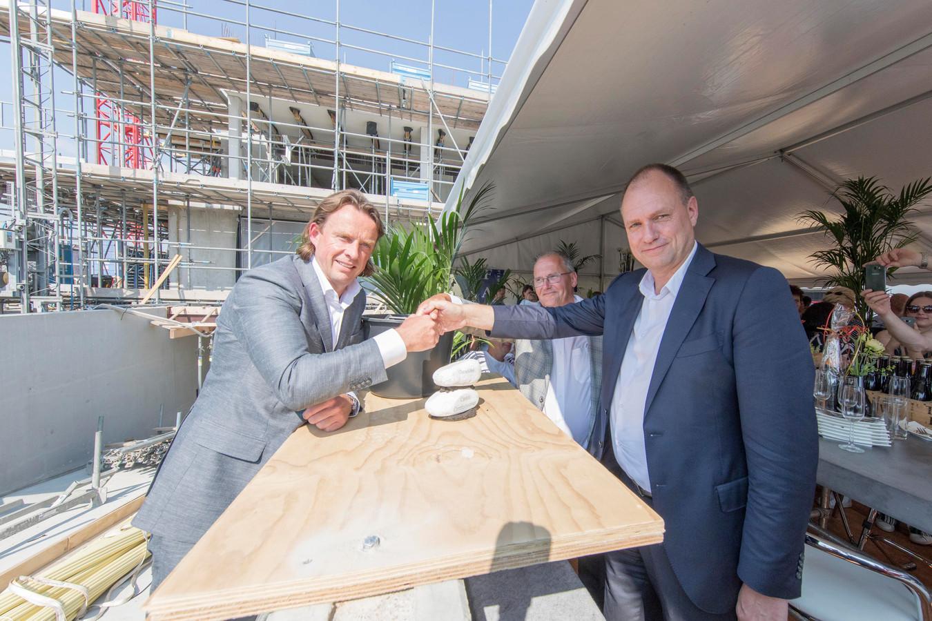 Sven Lavrysen van Carédo, Paul Witteman van adviesbureau Inocare en wethouder Kees Verburg