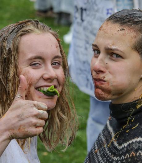 Extra sancties voor studentenclub Eligia na gebruik voedsel tijdens doop