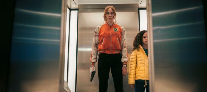 Karen Gillan als Sam in 'Gunpowder Milkshake'.