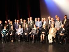 Topdrukte door aantal Koninklijke onderscheidingen in Meierijstad