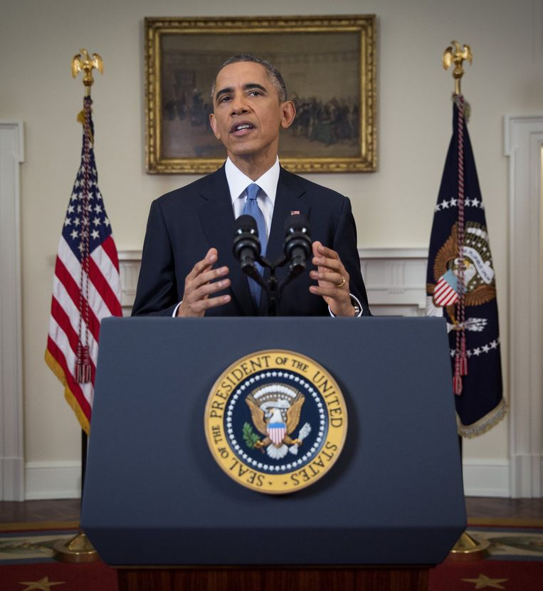 In his speech Wednesday, Obama referred to Sarraff as