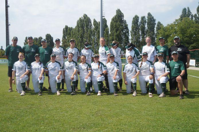 Het team van Roef! bij de Europa Cup in Italië.