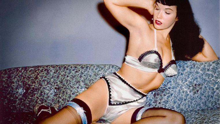 Erotische cinema Beeld Betty Page