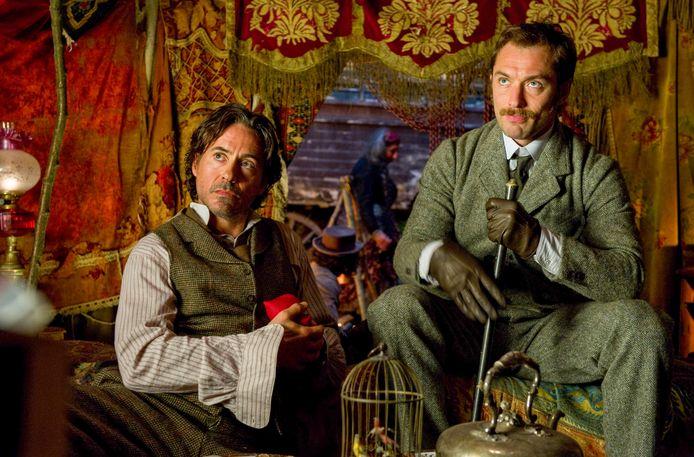 Robert Downey Jr. en Jude Law zijn nu te zien in Sherlock Holmes: A Game of Shadows op Netflix.