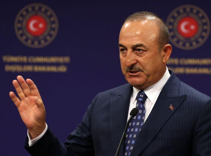 Mevlut Cavusoglu, ministre turc des Affaires étrangères.