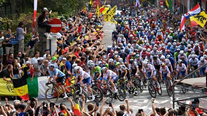 Les supporters affluent à Louvain pour les Mondiaux de cyclisme, le Wijnpers déjà fermé