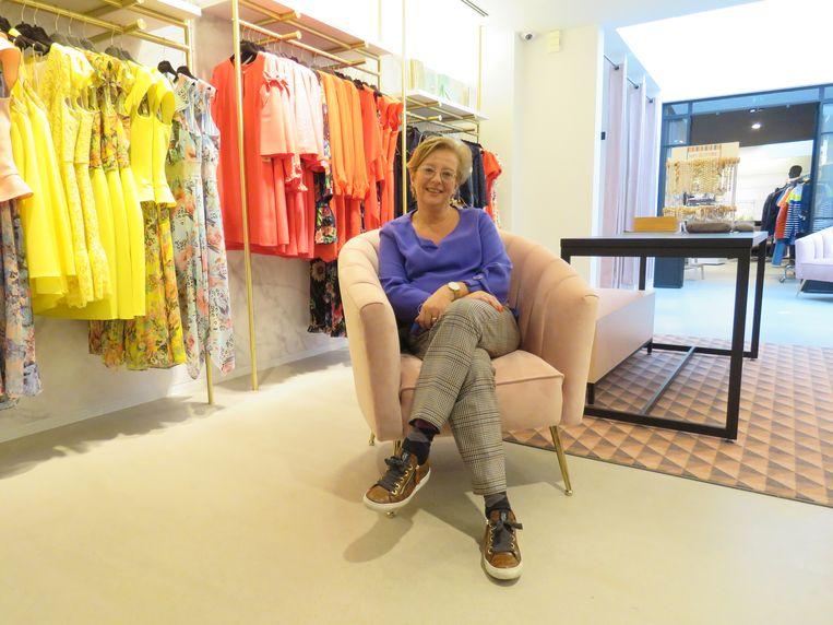 Els Van Daele is trots op Yzer Fashion, dat niet alleen 75 jaar bestaat, maar bovendien een nieuw kleedje kreeg.