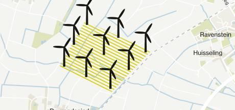 Meerderheid Osse Raad tegen windpark Stijbeemden
