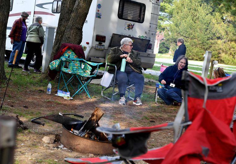 Kunnen we straks weer met de camper op pad?  Beeld AFP