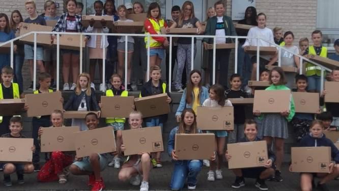Kinderen van 5de en 6de leerjaar kunnen aan de slag met hun gratis laptop
