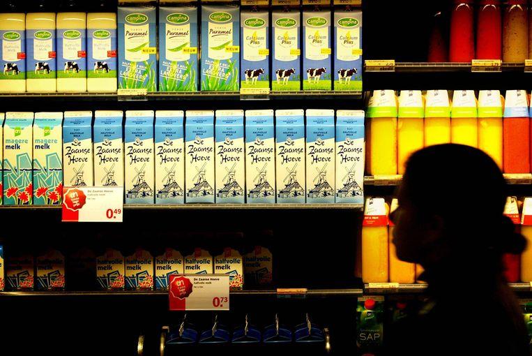 Een schap in de supermarkt. Beeld Hollandse Hoogte /  ANP