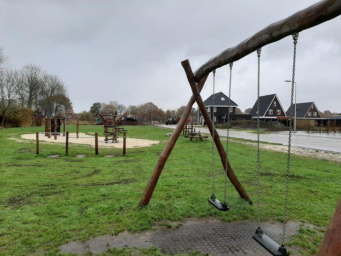 De in 2019 geopende speeltuin in nieuwbouwwijk Bransveen.