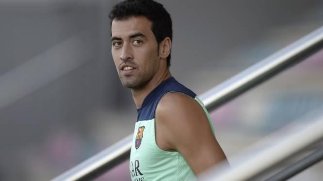 Barcelona breekt contract Busquets open tot 2018