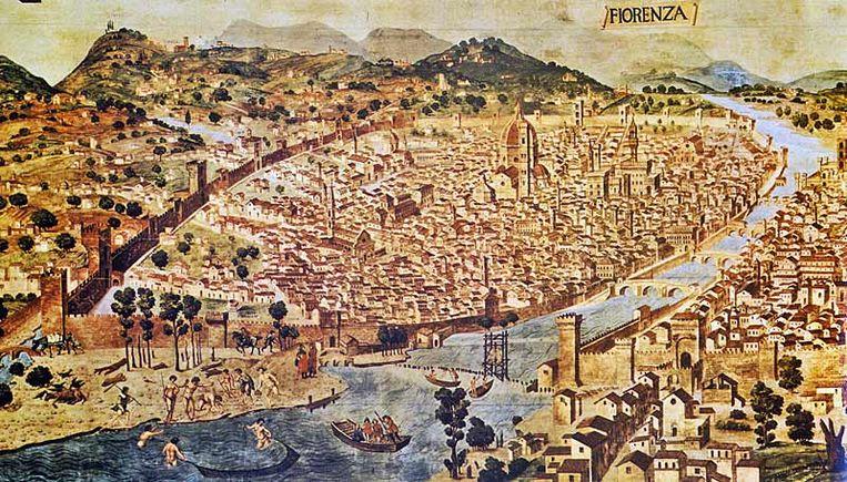 Een beeld van het oude Firenze, waarover Machiavelli schreef. Beeld rv