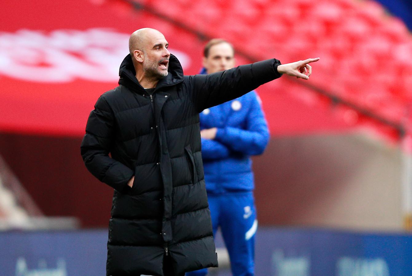 Guardiola verbaasd: 'Waarom zit Ajax niet in de Super League?' | Foto