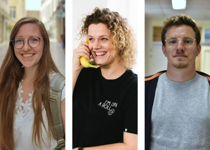 Julie, Lore en Rob kampen met telefoonvrees.