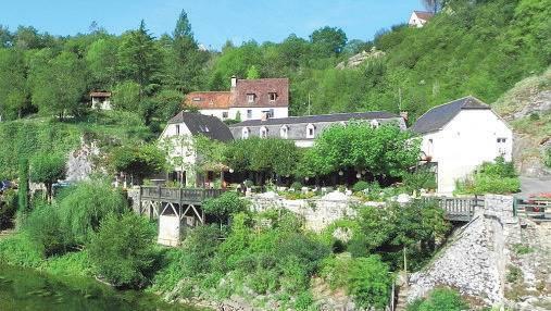 Le Pont de l'Ouysse in Lacave.