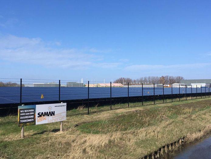 Het Zonnepark bij Zierikzee.