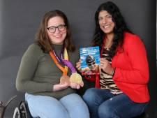 Zwemmen is vrijheid voor paralympisch kampioene Lisette: 'In het water kan ik staan zonder hulp'