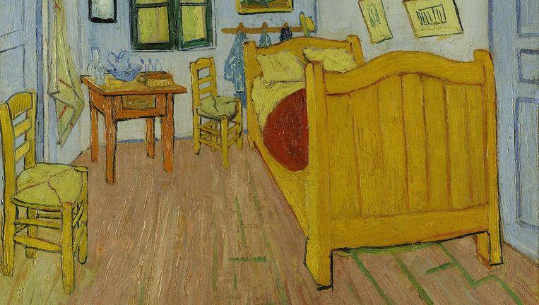 Een van de meest beroemde schilderijen van Van Gogh: de Slaapkamer. Het bed blijkt in Boxmeer beland te zijn. Beeld Van Gogh Museum