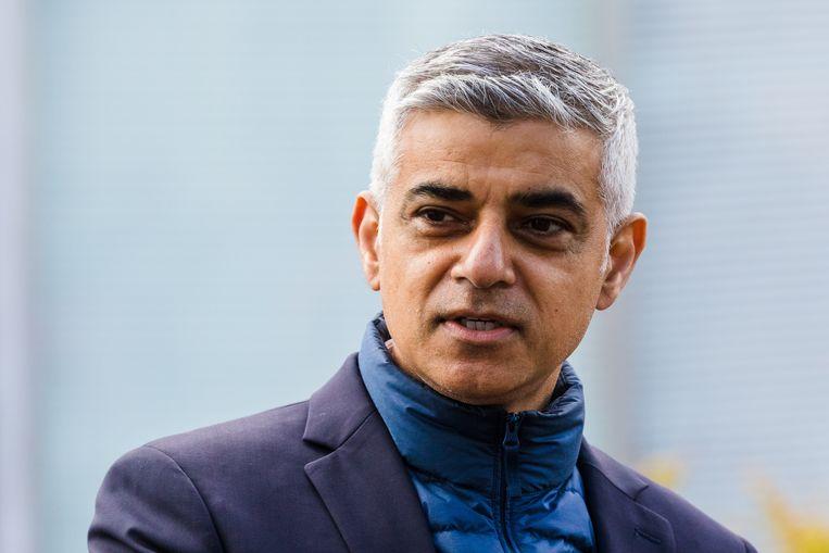 Sadiq Khan is zaterdag herkozen als burgemeester van Londen. Beeld EPA
